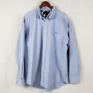 Tommy Hilfiger Chambray button dress shirt XL